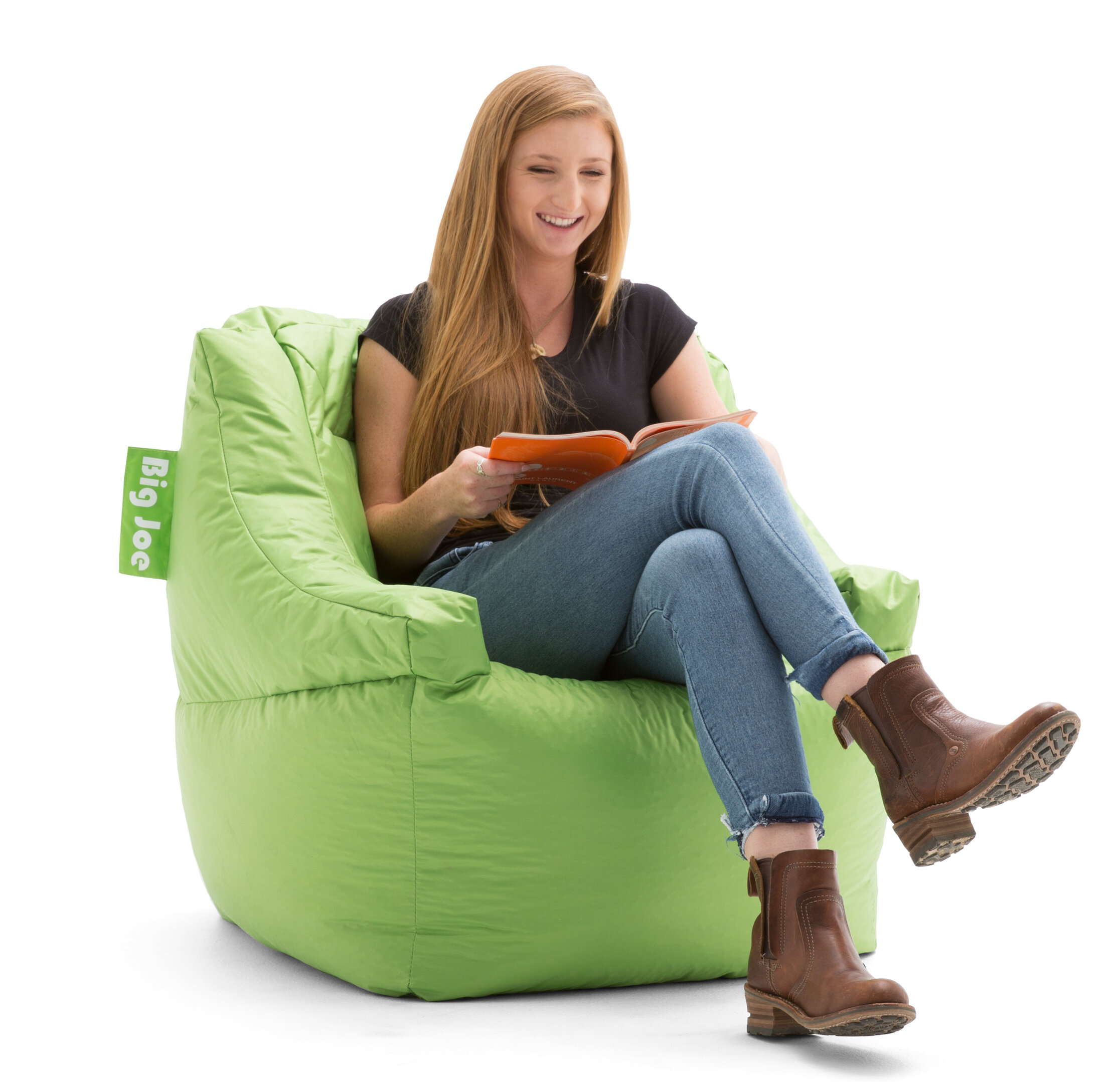 Comfort Research Big Joe Lucky Bean Bag Chair U0026 Reviews | Wayfair