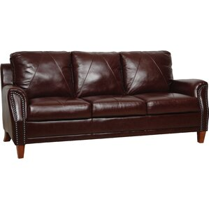 Austin Leather Sofa by Luke Leather