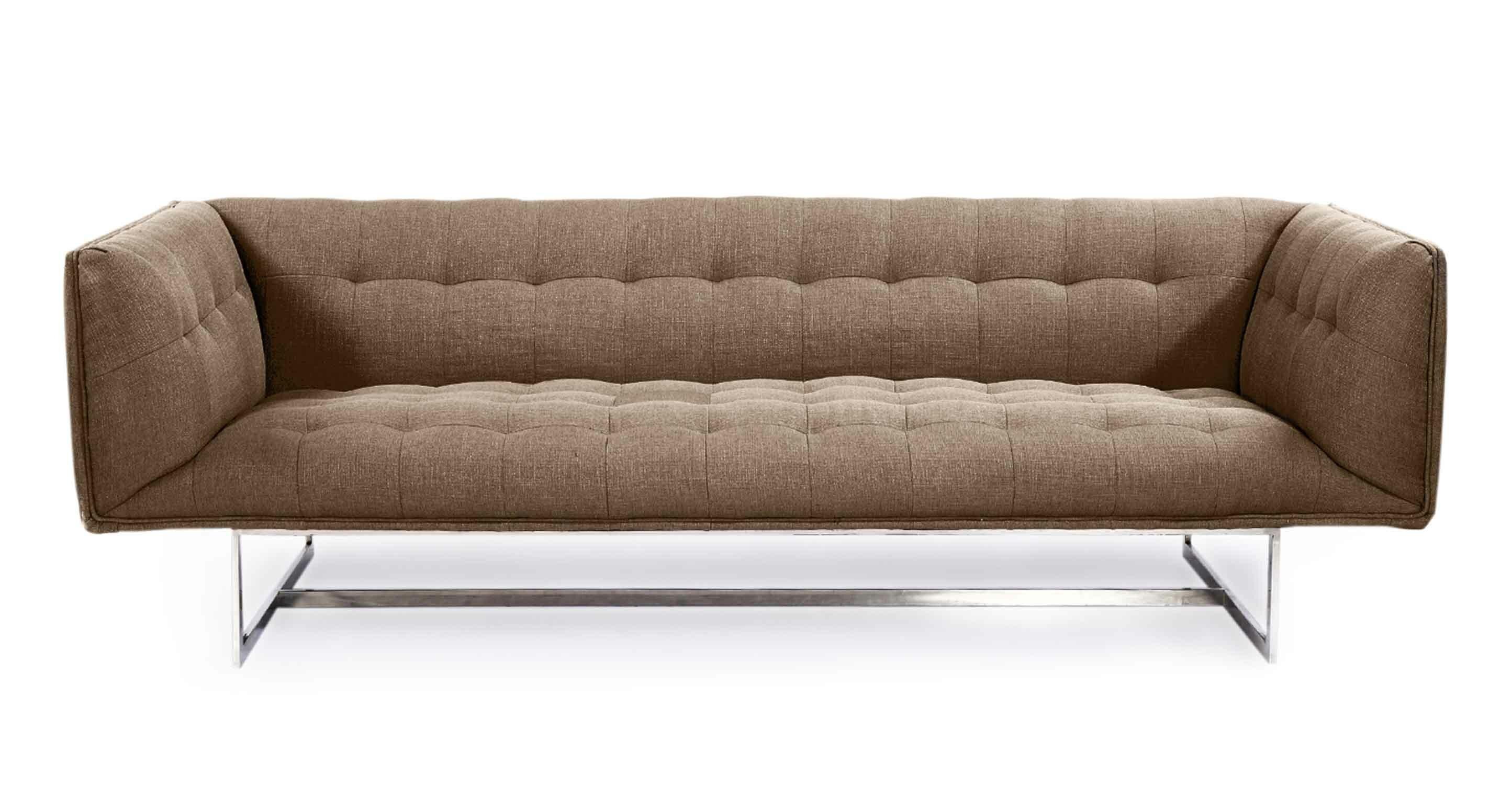 Orren Ellis Shaner Mid Century Modern Chesterfield Sofa & Reviews ...