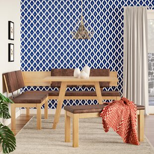 Desouza 3 Piece Breakfast Nook Dining Set