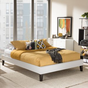 Biagio Upholstered Platform Bed by Wholesale Interiors