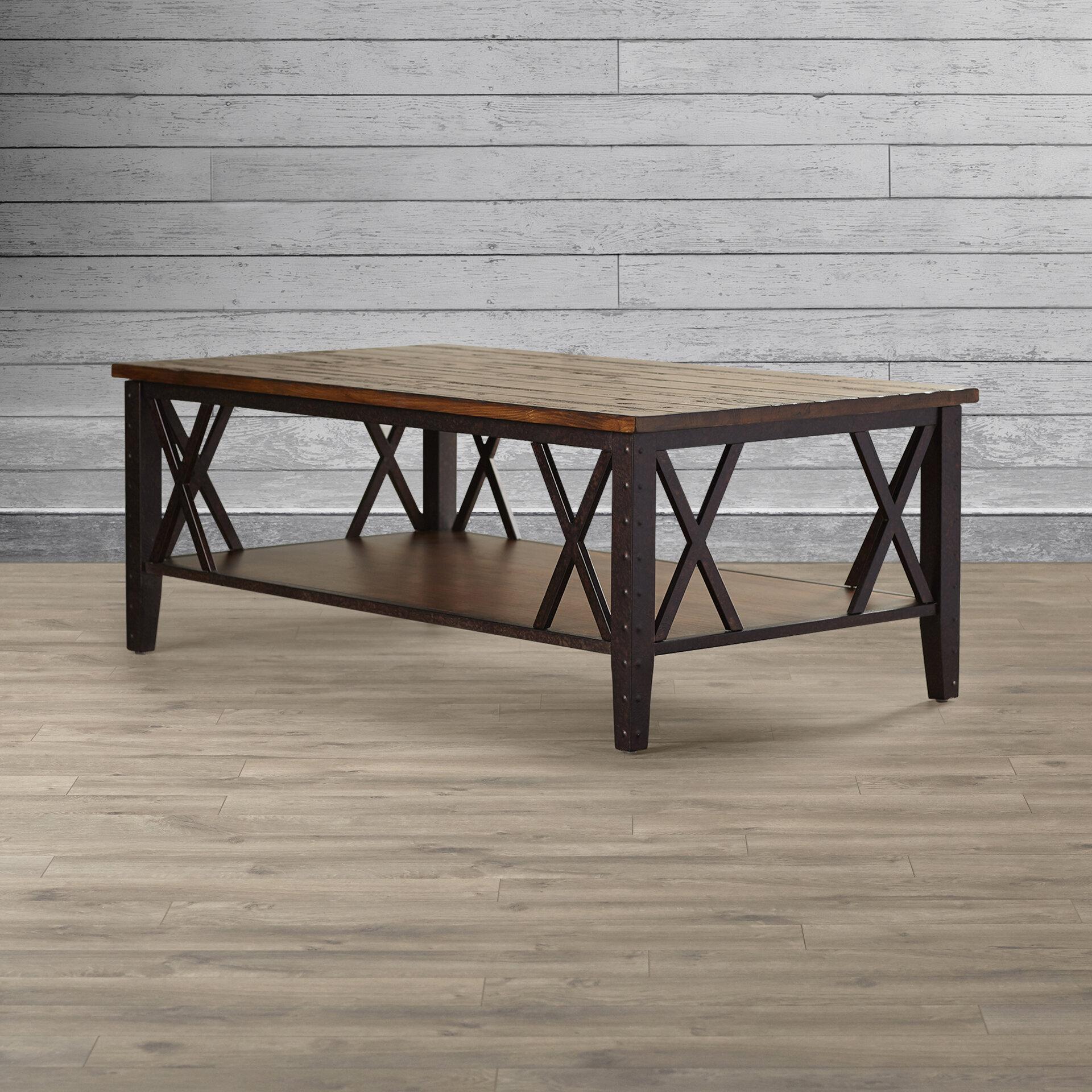 loon peak livingston coffee table reviews wayfair