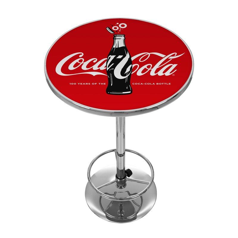 Trademark global coca cola 100th anniversary pub table for Table th 100