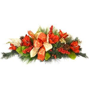 amaryllis christmas centerpiece
