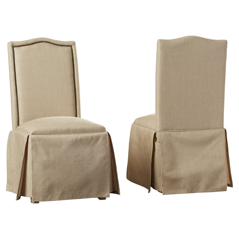 Skirted Kitchen Chair Pads