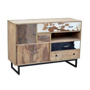 Rustic Mango Wood Chest Storage Accent Cabinet