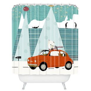 Brian Buckley The Polar Express Shower Curtain