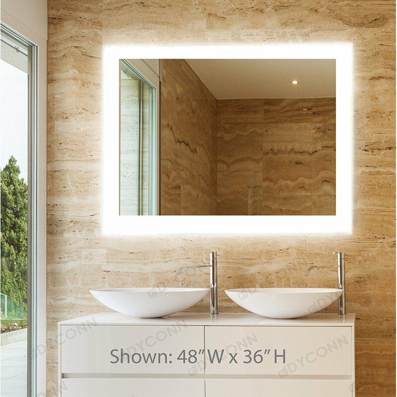 Dyconn Faucet Royal Bathroom Mirror & Reviews | Wayfair