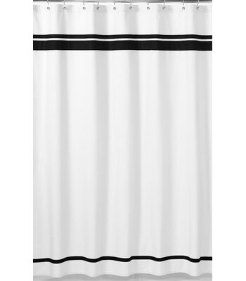 Sweet Jojo Designs Hotel Cotton Single Shower Curtain