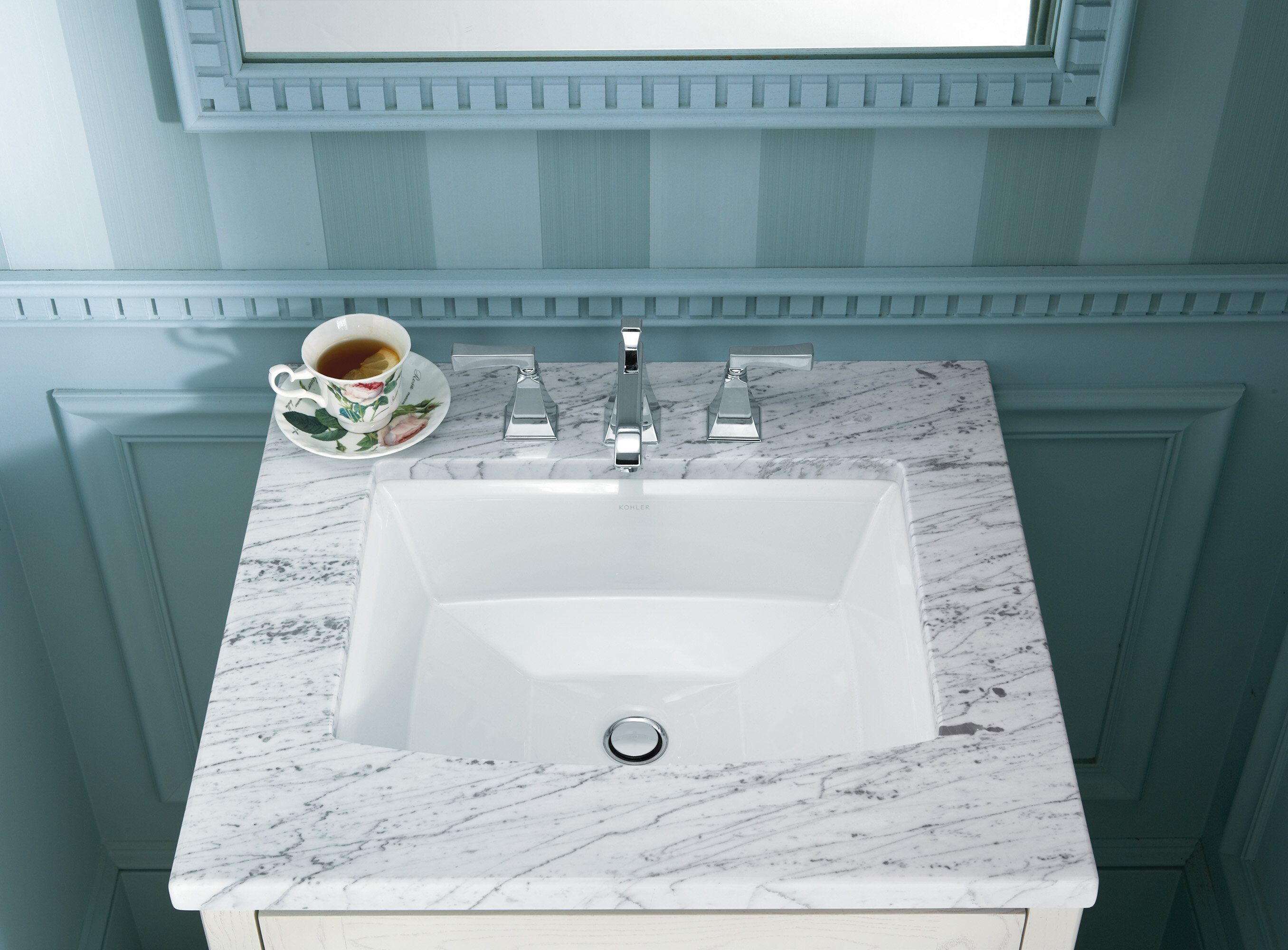 K-2355-0,33,47 Kohler Archer Ceramic Rectangular Undermount Bathroom ...