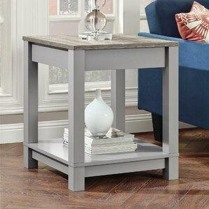 Callowhill End Table by Mercury Row