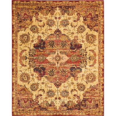 Dufresne Cream Red Area Rug Joss Main
