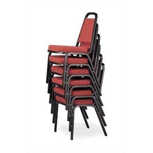 Rectangular Back Banquet Chair With Cushion