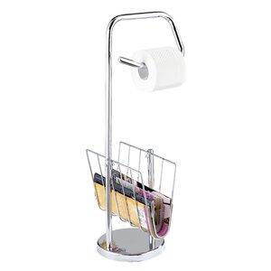 freistehender toilettenpapierhalter und zeitungsstnder - Moderner Freistehender Toilettenpapierhalter