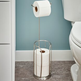 Free Standing Toilet Paper Holders Youu0027ll Love | Wayfair