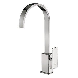 WS Bath Collections Elle Single Handle Kitchen Faucet with Swiveling Spout