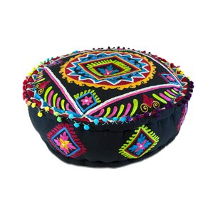 Pouf Ottoman by Imports Decor
