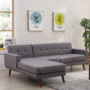 Barnet Mid Century Sectional (Set of 2) by George Oliver