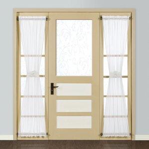 curtains for front doorFront Door Curtains  Wayfair