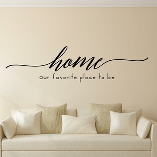 Home Our Favourite Place to Be Vinyl Wall Decal