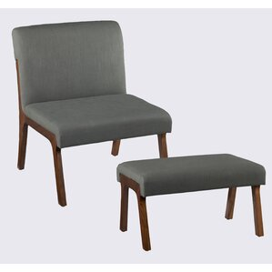 Plexus Side Chair And Ottoman by Holly & Mar..