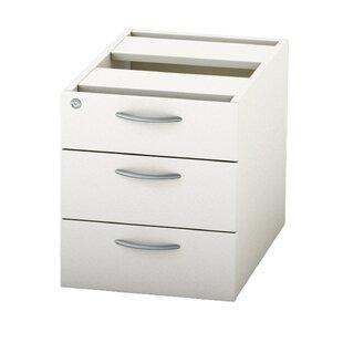 Satellite 3 Drawer Lockable Filing Cabinet