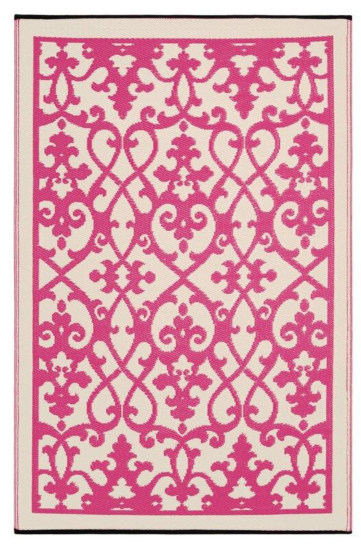 Algarve Pink Outdoor Rug