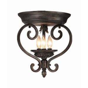 Watlington 3-Light Flush Mount