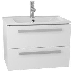 Dadila 25 Single Wall Mount Bathroom Vanity Set