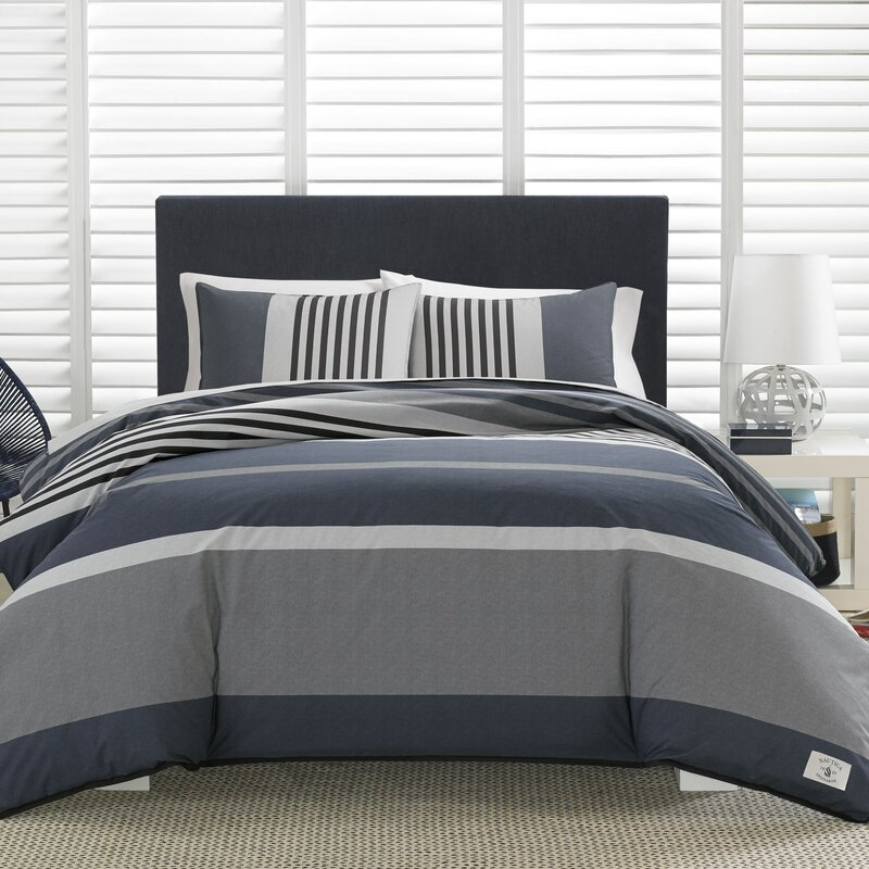 abc139ef20d6f8 Nautica Rendon 100% Cotton Comforter Set & Reviews   Wayfair