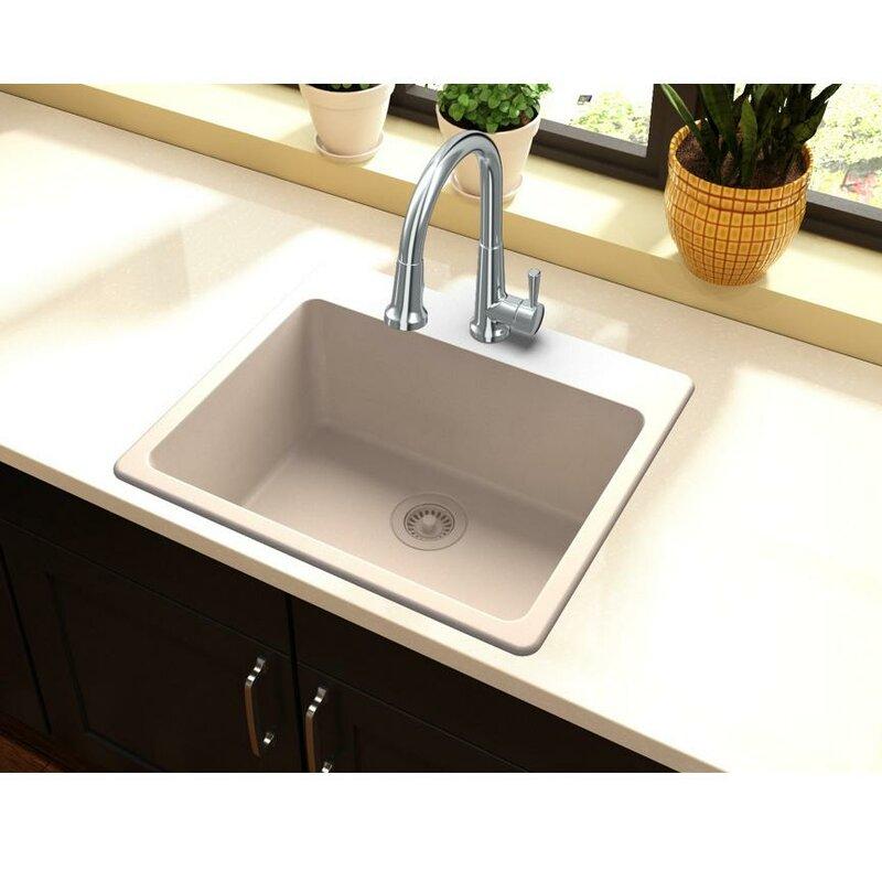 Elkay quartz classic 25 x 22 drop in kitchen sink reviews wayfair quartz classic 25 x 22 drop in kitchen sink workwithnaturefo