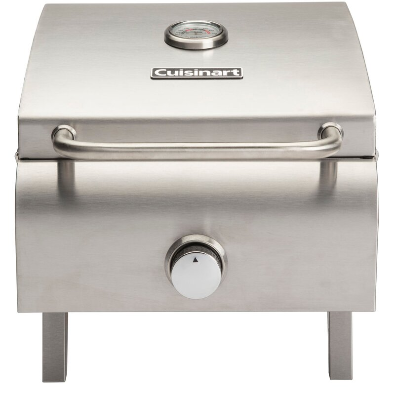 Professional Propane Griddle Grill With Single Burner Stove