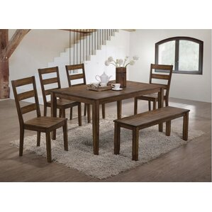 Maisha 5 Piece Dining Set by Union Rustic
