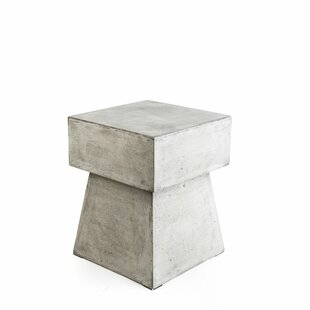 Mushroom Stone/Concrete Side Table