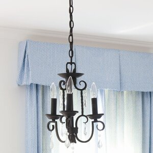 Jamar 3-Light Candle-Style Chandelier