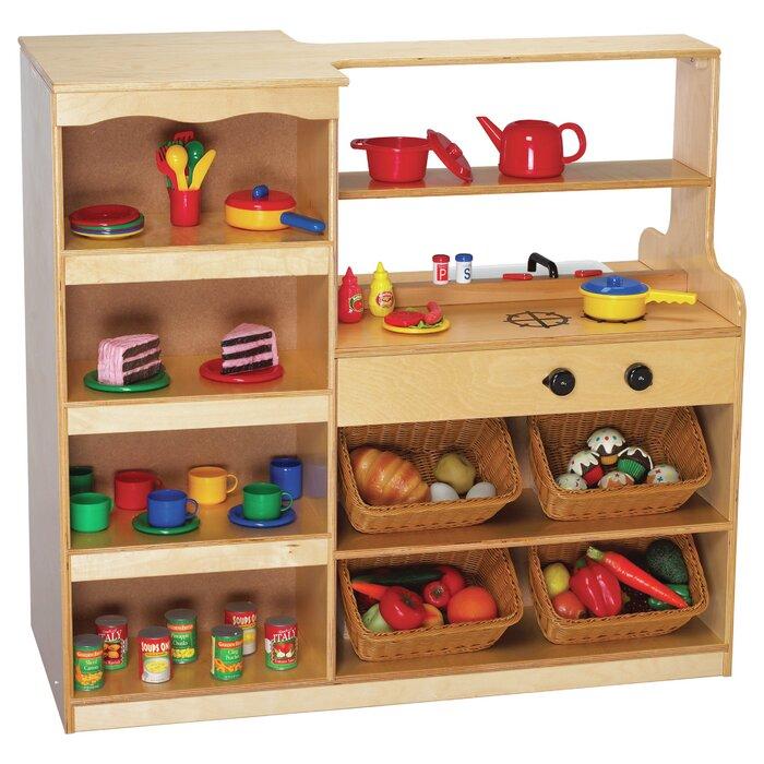 childcraft mobile island play kitchen wayfair ca rh wayfair ca