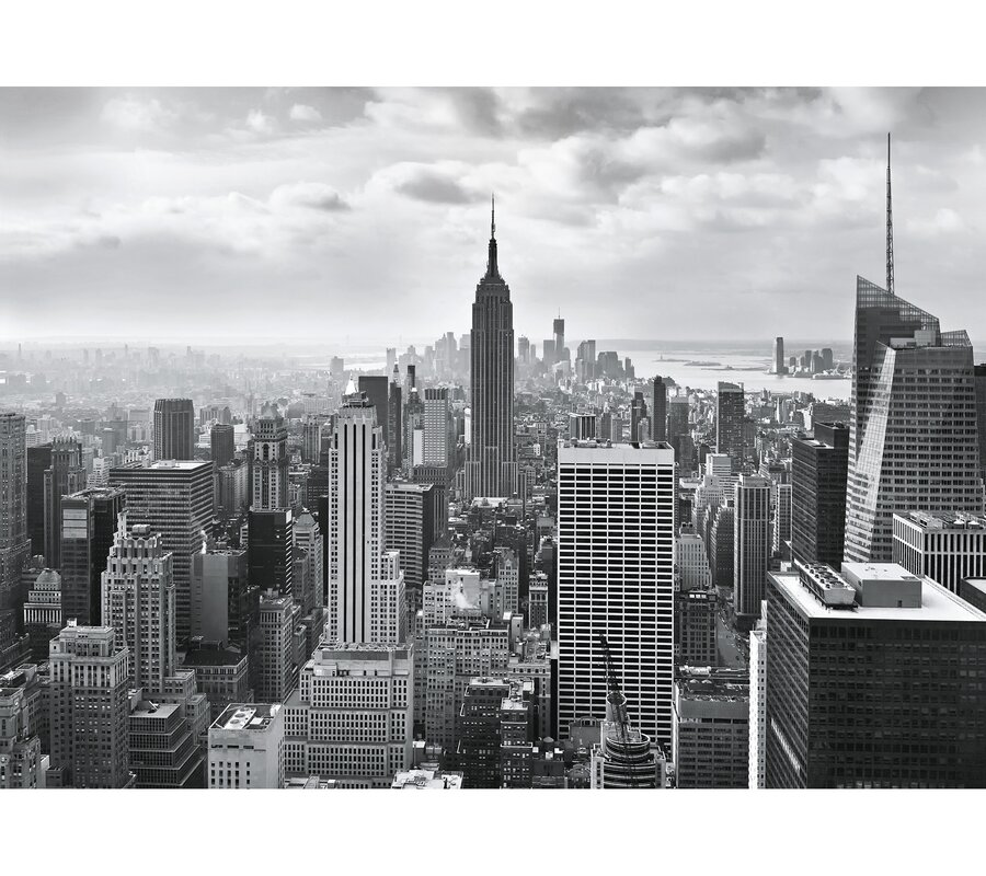 New York City Wall Mural brewster home fashions new york city wall mural & reviews | wayfair