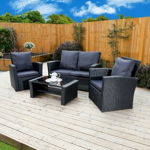 Rattan Sofa Sets You Ll Love Wayfair Co Uk