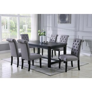 Evelin 7 Piece Dining Set Purchase
