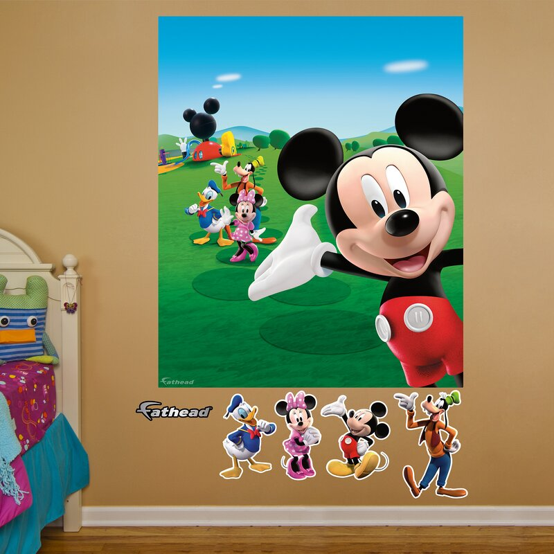 Disney Mickey Mouse Clubhouse Wall Mural Part 13