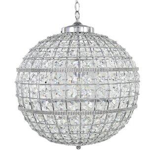 Glass orb chandelier wayfair soapstone glass orb 1 light globe pendant mozeypictures Choice Image