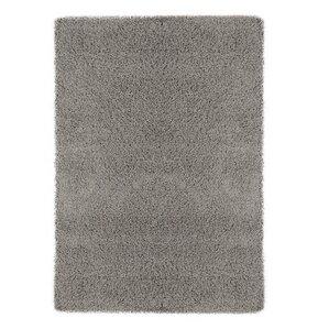 maywood ultimate shaggy gray solid area rug