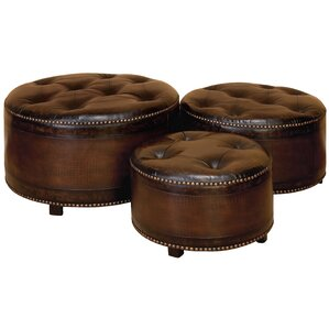 3 Piece Ottoman Set by Cole & ..