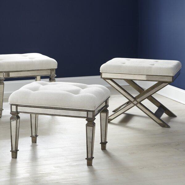 vanity chair.  Bradford Bench Vanity Stool Reviews Birch Lane