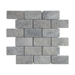 Gray Silver Travertine Tile Wayfair