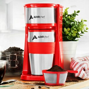 Grab and Go Personal Coffee Maker with 15 oz. Travel Mug