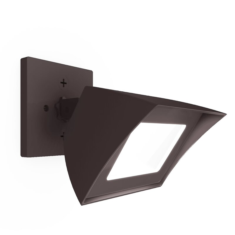 Wac lighting endurance flood light energy star outdoorindoor wall endurance flood light energy star outdoorindoor wall pack 35w 3000k e aloadofball Image collections