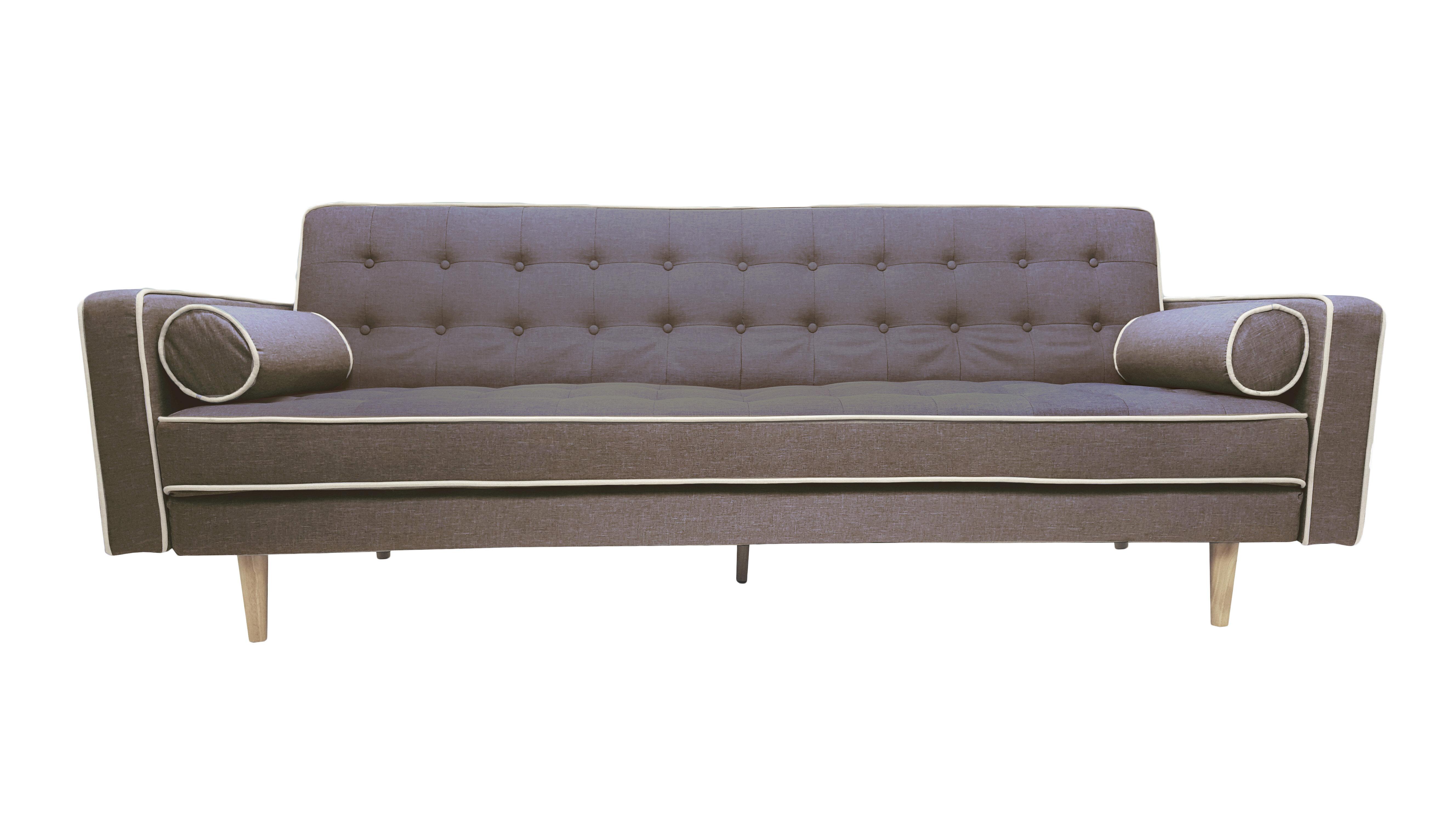 mid century sleeper sofa Langley Street Clarissa 2 Tone Mid Century Sleeper Sofa & Reviews  mid century sleeper sofa