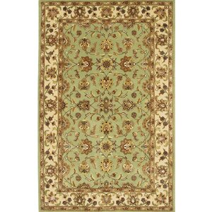 Turnpike Green/Tan Area Rug