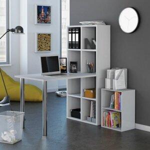 Schreibtisch Gera mit Bücherregal von Home Etc